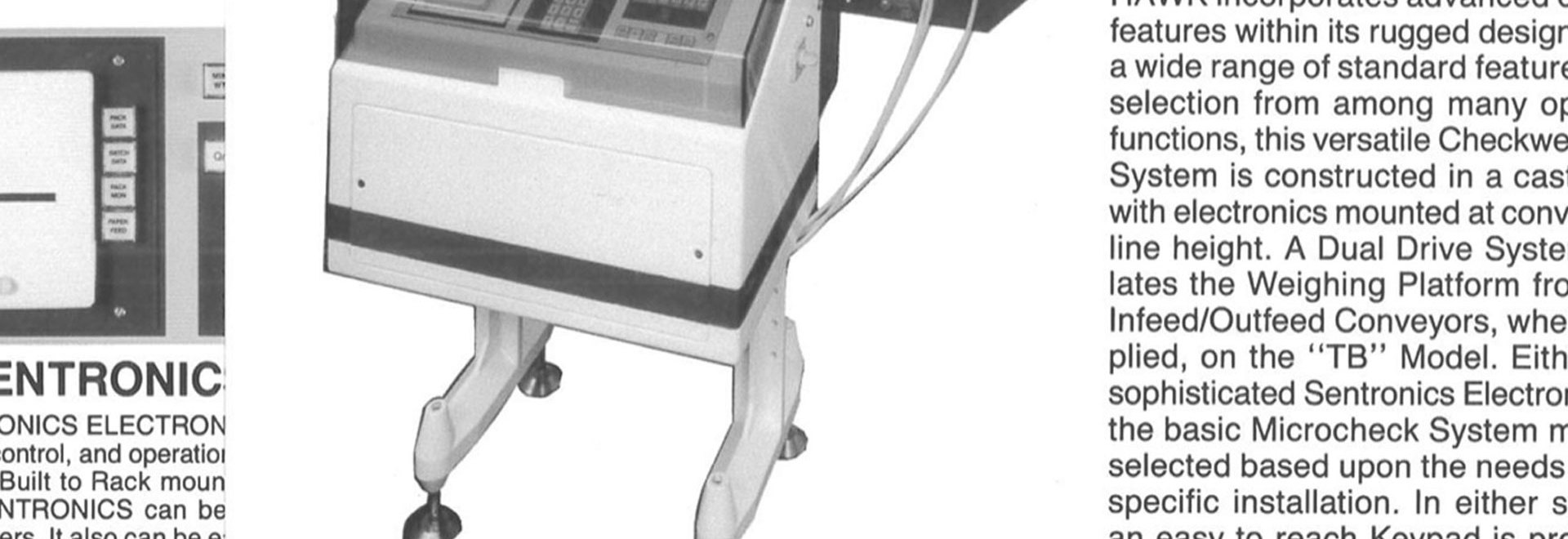 CHECKWEIGHERS, PRIOR TO ALPHA